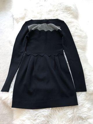 Valentino long sleeve dress