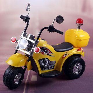 Harley Davidson police bike ride on kids electric toy
