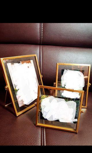 結婚 金屬相架 3個婚禮 迎賓枱 wedding reception deco