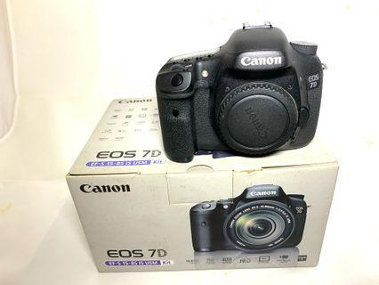 Canon Camera EOS 7D DSLR Body Only