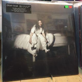 Billie Eilish When We All Fall Asleep Where Do We Go? Exclusive Lime Colored Vinyl LP