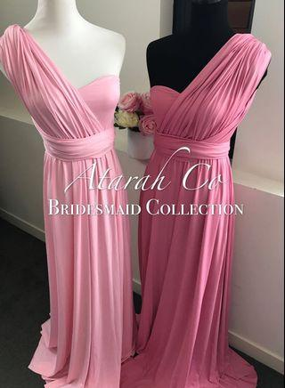 🚚 Bridesmaid Infinity Convertible Multiway Dress