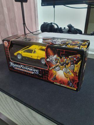 Transformers Sunstreaker (TFCC Botcon 2003)