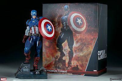 Sideshows captain America premium format