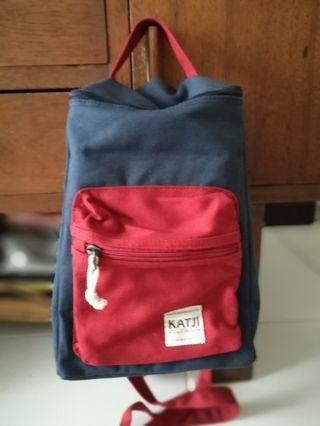 Katji blue and red bag