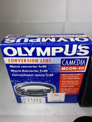 Olympus MCON-40 Macro Converter Lens f=40