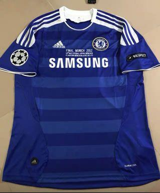 Chelsea UCL Final Jersey 11/12