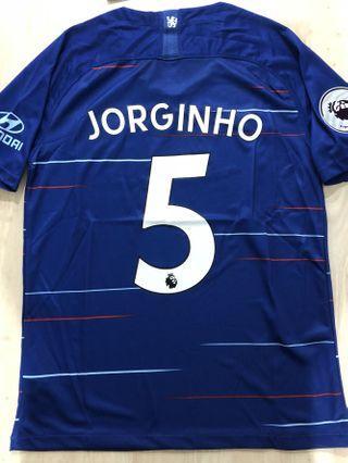 In Stock: Chelsea Jorginho Jersey