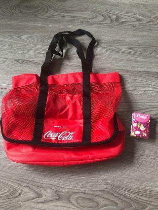 Coca Cola 冰袋 環保袋