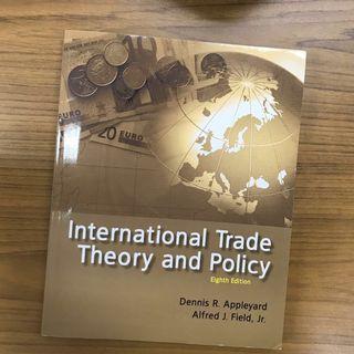 🚚 全新❤️international trade theory and policy 貿論