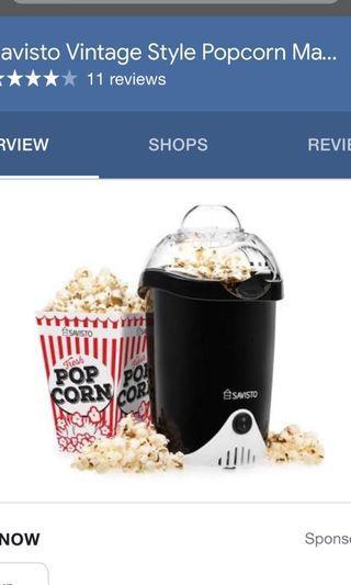 🚚 Savisto - Popcorn Maker