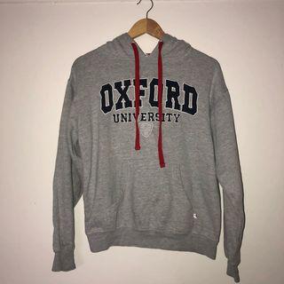 Oxford University grey hoodie