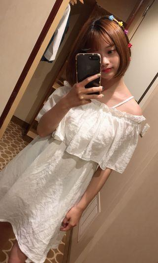 🚚 正韓平口洋裝