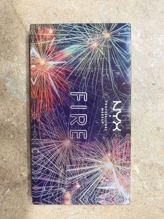 NYX - Fire palette