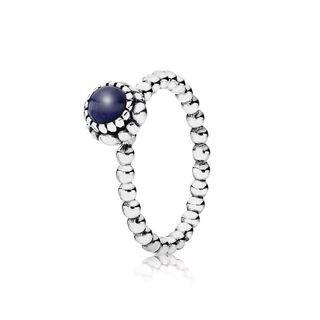 PANDORA September Birthstone Ring (6/7)
