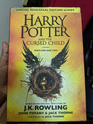 Harry Potter And The Cursed Child - Hardback edition