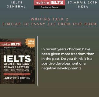 IELTS GENERAL TRAINING WRITING