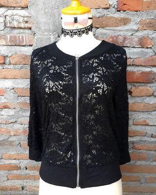 Black Lace Jaket