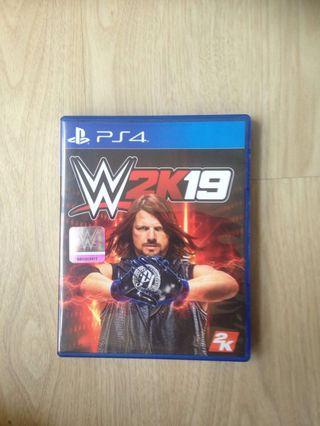 🚚 WWE 2K19 for PS4