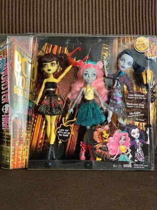 💝 Monster High Boo York a Monsterrific Musical