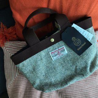 Harris tweed small lunch bag