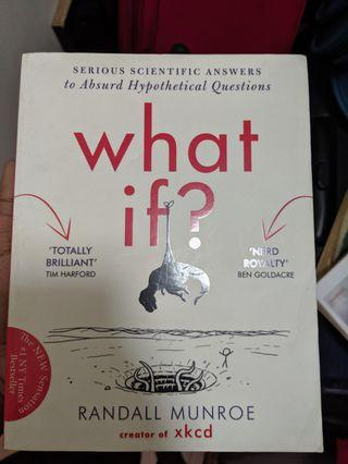 🚚 What If ? - Randall Munroe - creator of xkcd