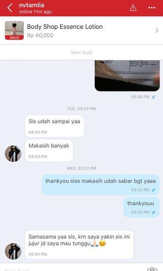 real testi, cust terrrrsabaaarrr, thankyou for your trust