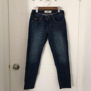 Hollister jeans 深藍 牛仔褲 us 美國