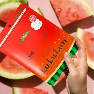 LuLuLun watermelon mask
