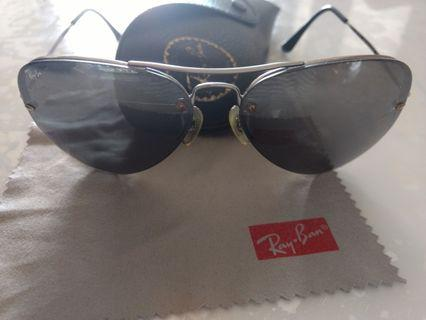 Ray Ban 特別板太陽眼鏡 sunglasses (made in italy) 60%新new,市場小有。無邊款
