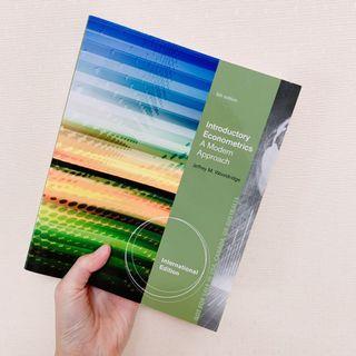 Introductory Econometrics計量經濟學第五版 |Jeffrey M.Wooldridge