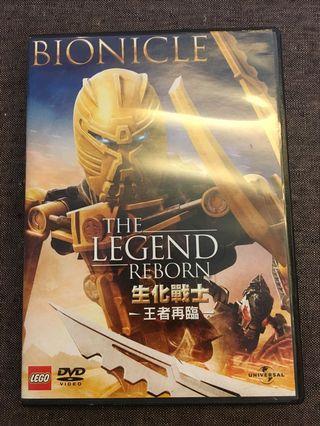 Lego Bionicle: The legend reborn DVD