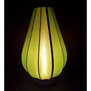 Vietnamese Chinese Electrical Lantern Lotus Shaped Lamp
