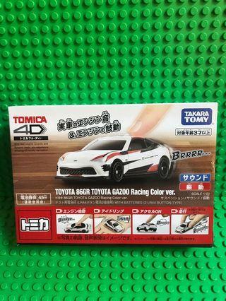 Tomica 4D TOYOTA 86GR TOYOTA GAZOO Racing Color ver.