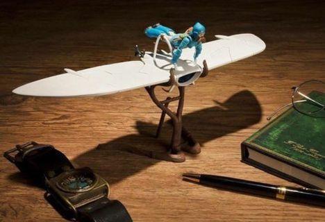 預訂 10月 日版 限定 想造 Galleria 風之谷 滑翔翼&娜烏西卡 Nausicaa  Full Action Ver. 宮崎駿 吉卜力 Ghibli
