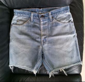 古著 牛仔短褲 Levi's 540 Vintage Jeans 橙牌