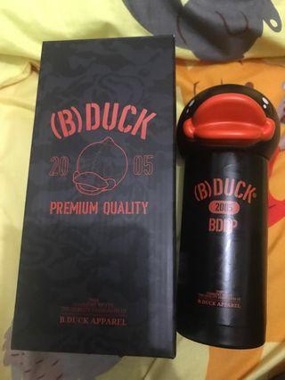 黑色 B Duck 保溫杯