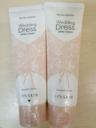 買一送一 It's Skin Secret Solution Wedding Dress White Cream 兩支
