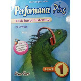 Performance Plus Task-based Listening Level1