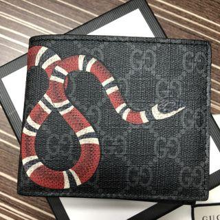 Authentic mens Gucci snake wallet for sale