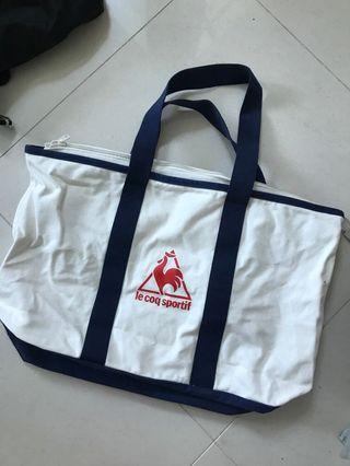 Le Coq Sportif Tote Bag large