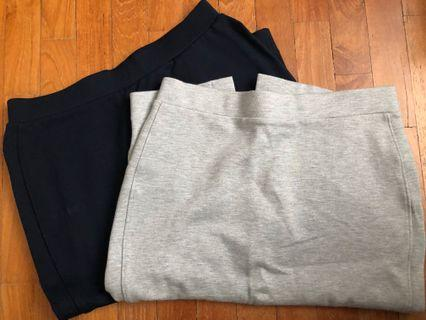 Bundle sale: 2 uniqlo skirt