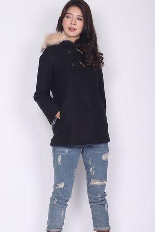 Paddington Fur Coat Size S