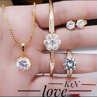 SET Perhiasan Permata