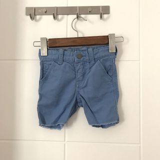 包平郵 Baby gap denim 藍色短褲仔
