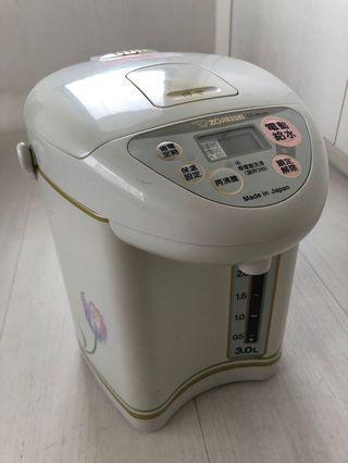 🍋 二手 象印 熱水瓶CD-JSV30T