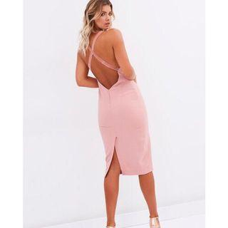 BNWT Bec & Bridge Camielle Midi Dress Size 6