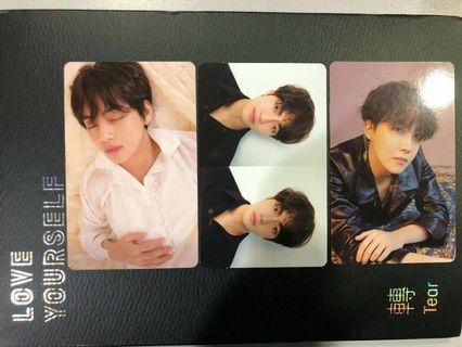 BTS LOVEYOURSELF TEAR photocard Change