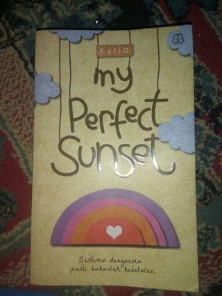Novel My Perfect Sunset by Kyria