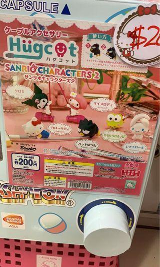 Kitty Melody 玉桂狗 xo 扭蛋 充電線裝飾保護套
